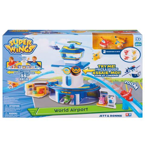 Набор Super Wings «Аэропорт»