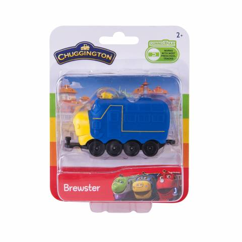 CHUGGINGTON паровозик в блистере Брюстер