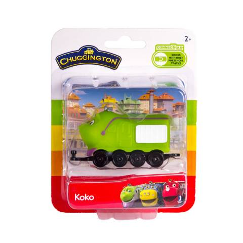 CHUGGINGTON паровозик в блистере Коко