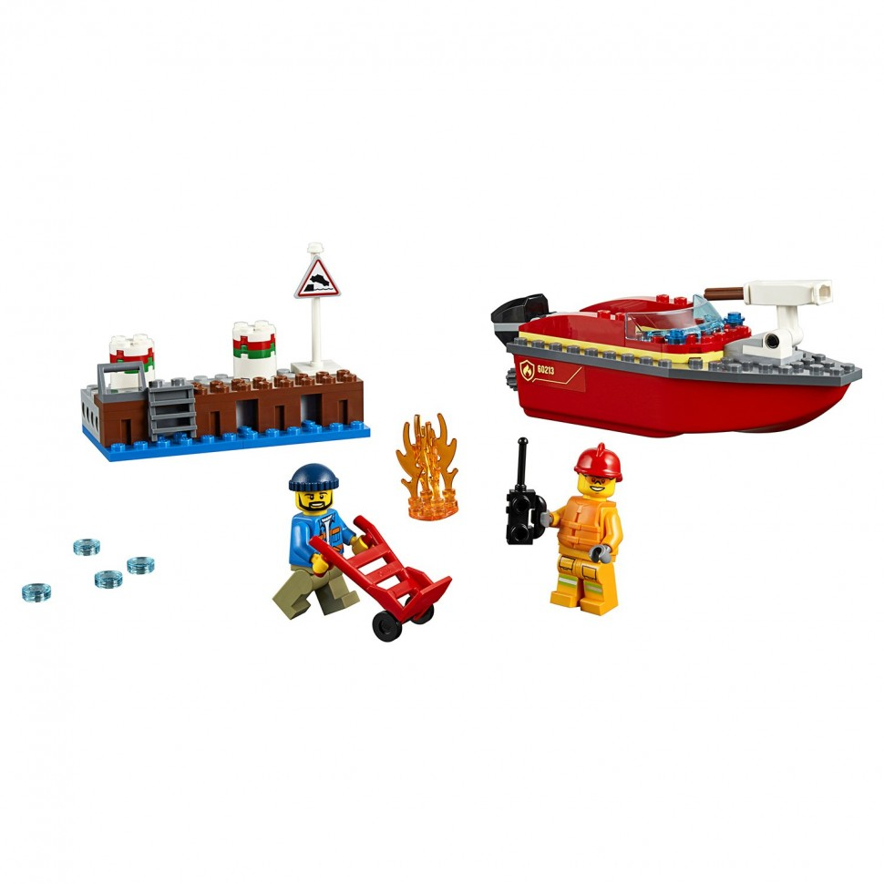 Конструктор LEGO City Fire Пожар в порту