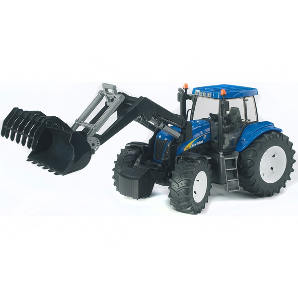 Трактор Bruder New Holland T8040 с погрузчиком