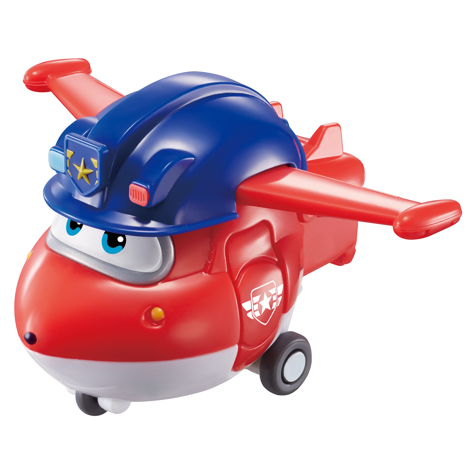 Купить Мини-трансформер Super Wings Джетт (команда Полиции), Super Wings - Супер Крылья